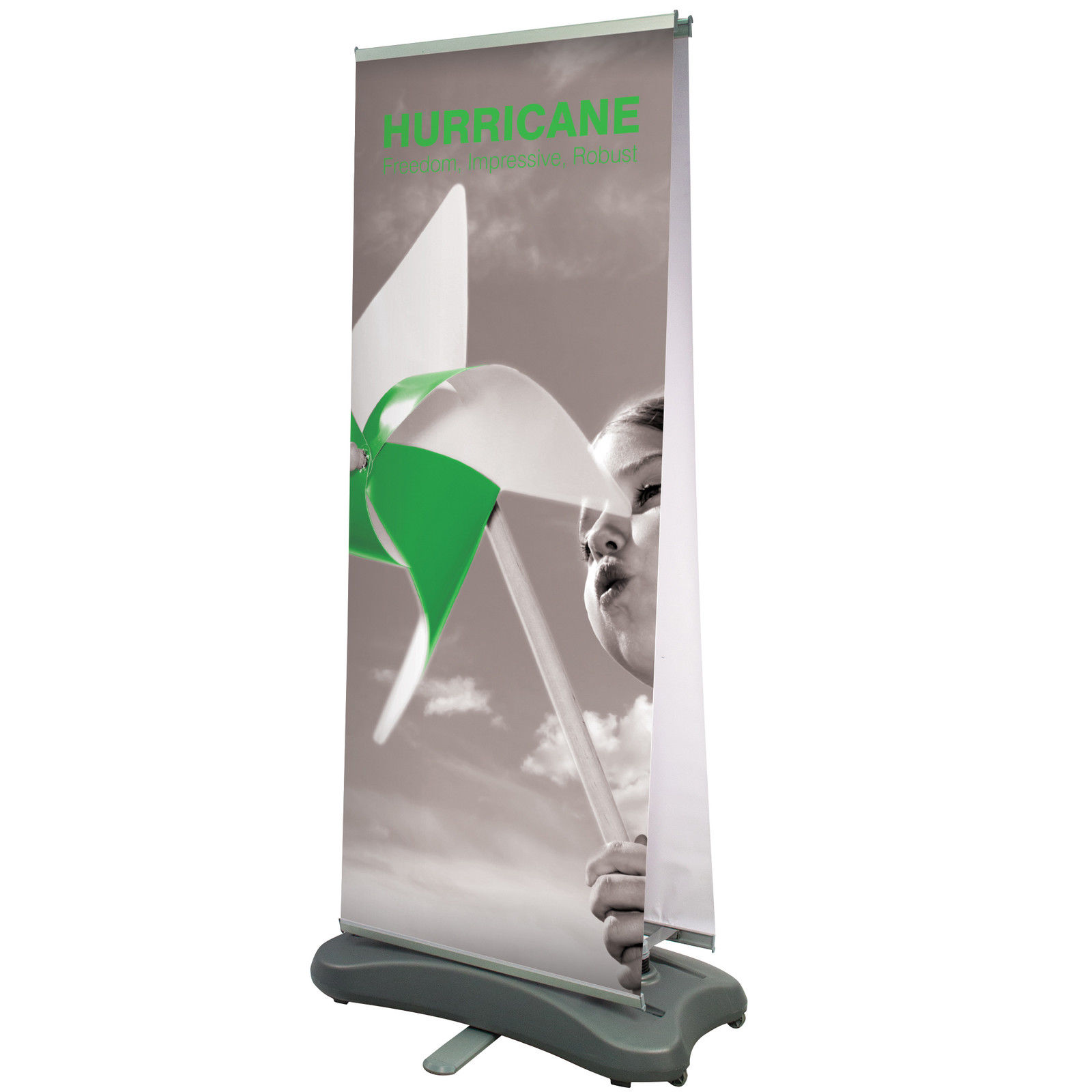 Hurricane Exterior Roller Banners