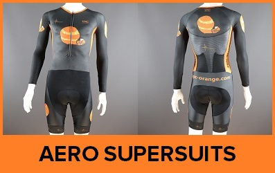 Custom Printed Long Sleeved Skinsuit Supersuit