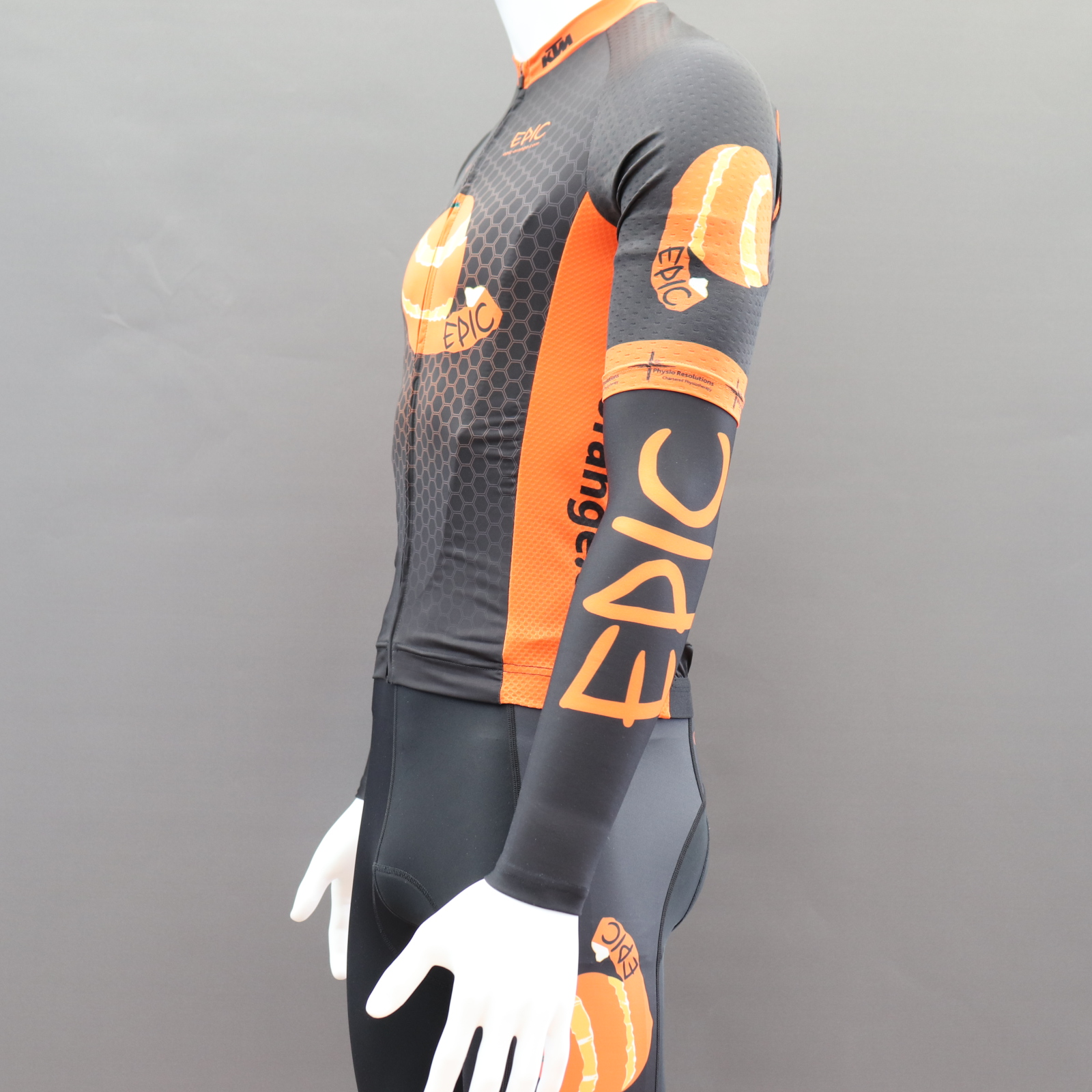 Custom Roubaix Lined Cycle Arm Warmers