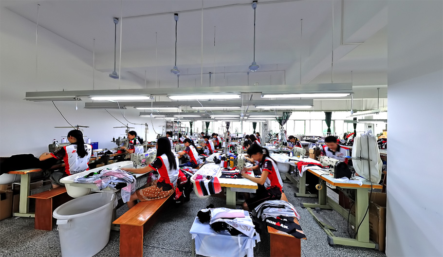 Cutting and Sewing production