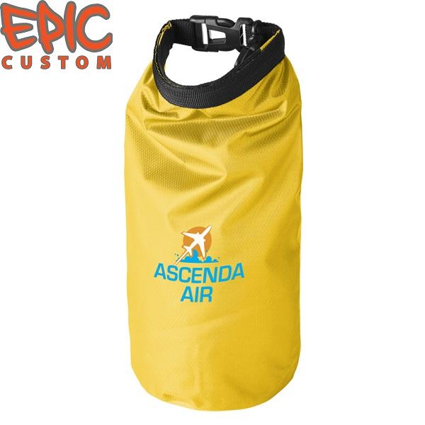 Custom Printed Dry Bags YELLOW