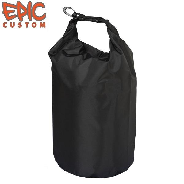Printed Waterproof Dry Bags 10 litre BLACK
