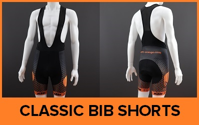 Custom Printed Classic Cycle Bib Shorts