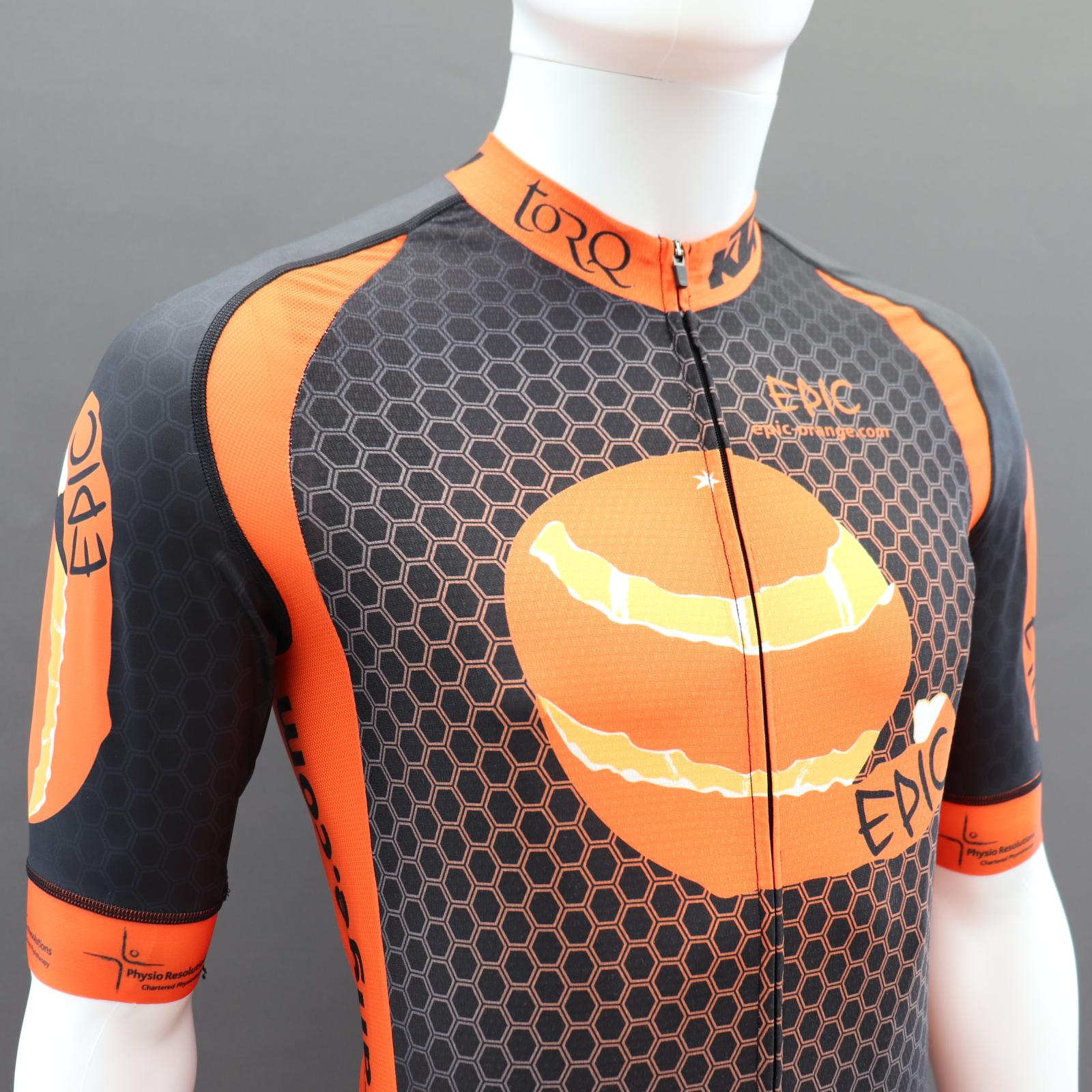 Pro Cycling Jerseys Shaped Side Panels