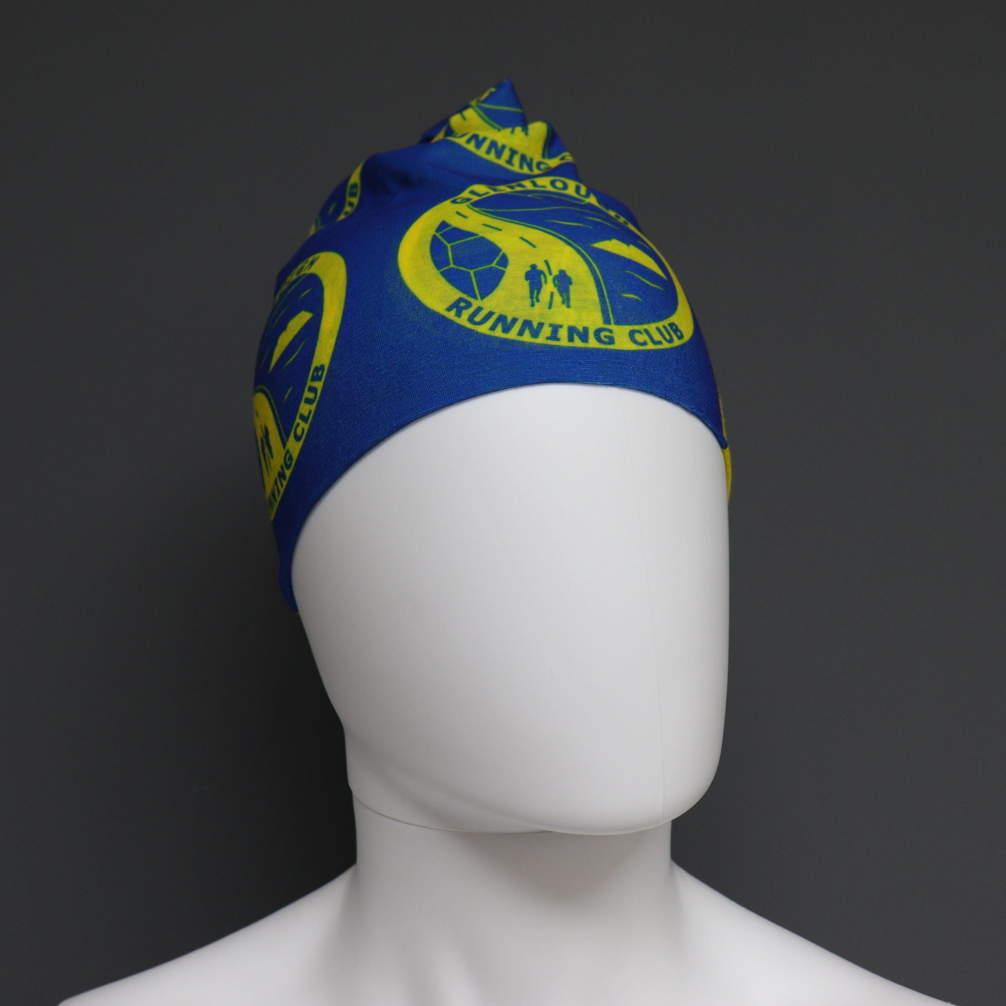 Custom Buff Style Headwear - Glenlough RC Blue