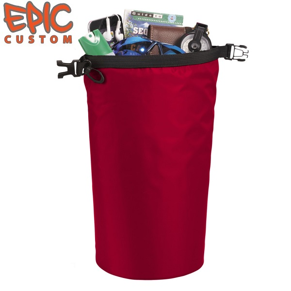 Printed Dry Bags 10 litre Capacity RED