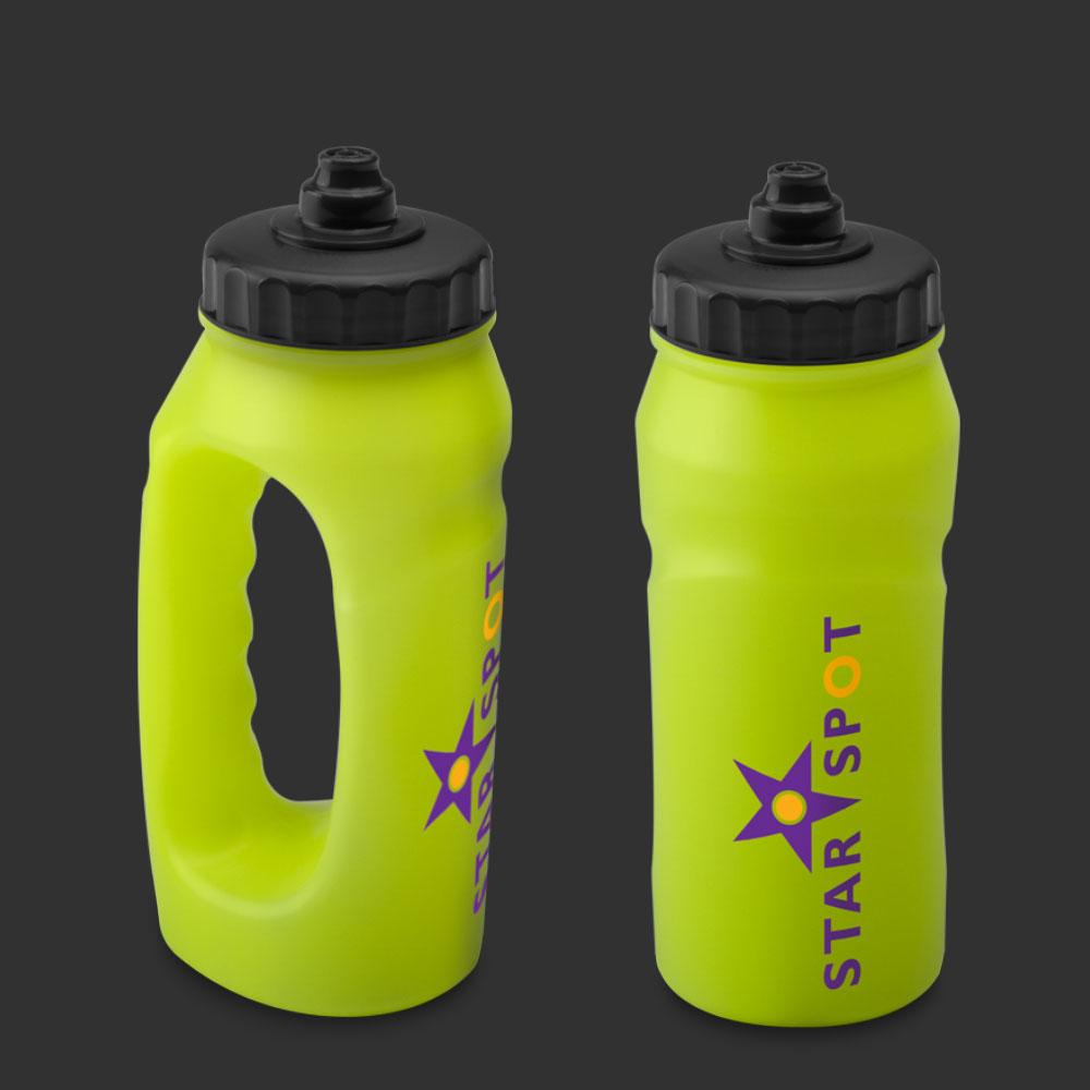 Glow in the Dark Jogger Bottles Custom Printed