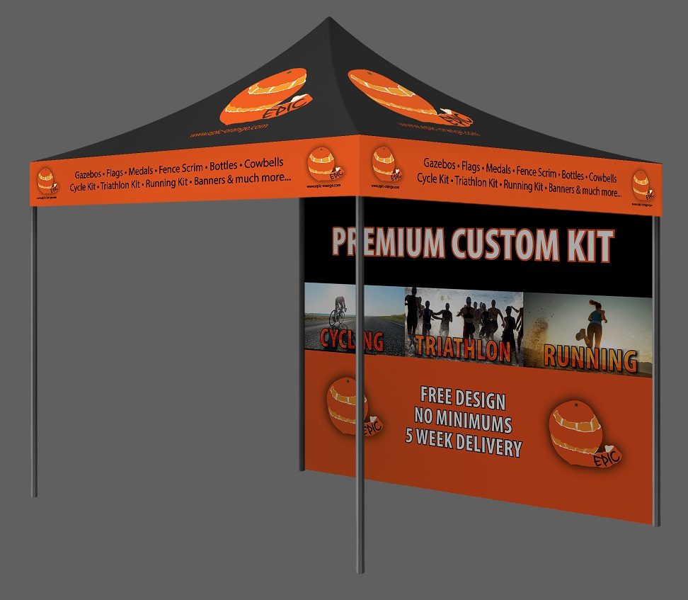 Custom Printed Gazebo Impact Package Epic