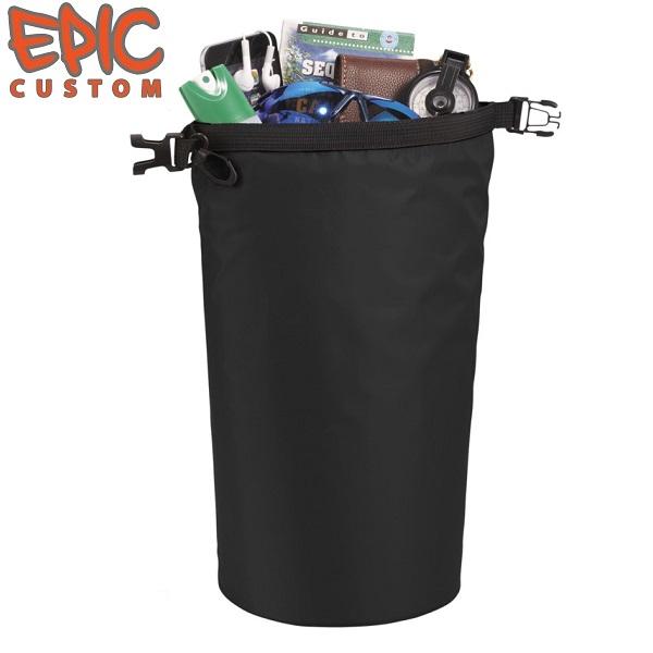 Printed Dry Bags 10 litre Capacity BLACK