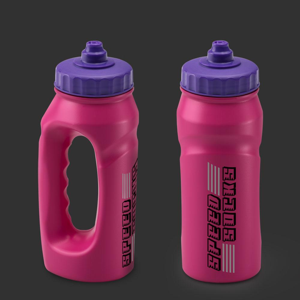 Jogger Run Bottles Custom Printed - Pink