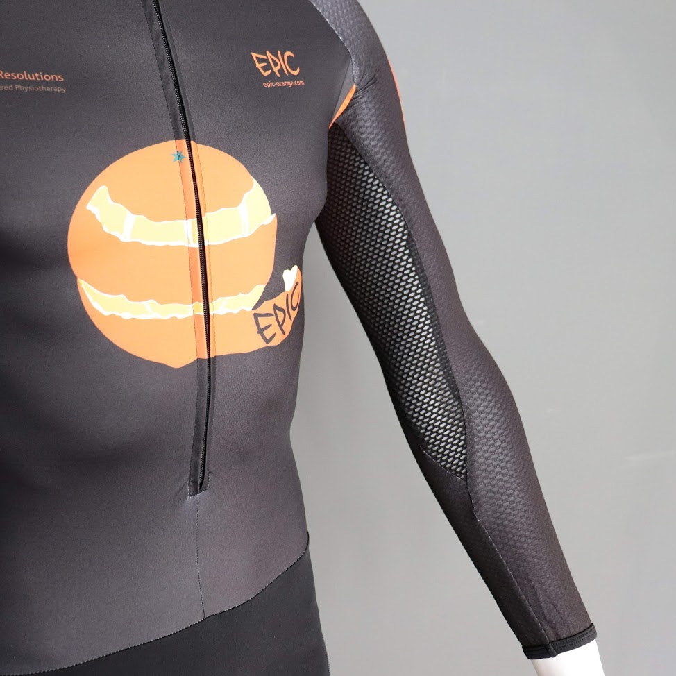 Custom Supersuits - Aerodynamic underarm cooling