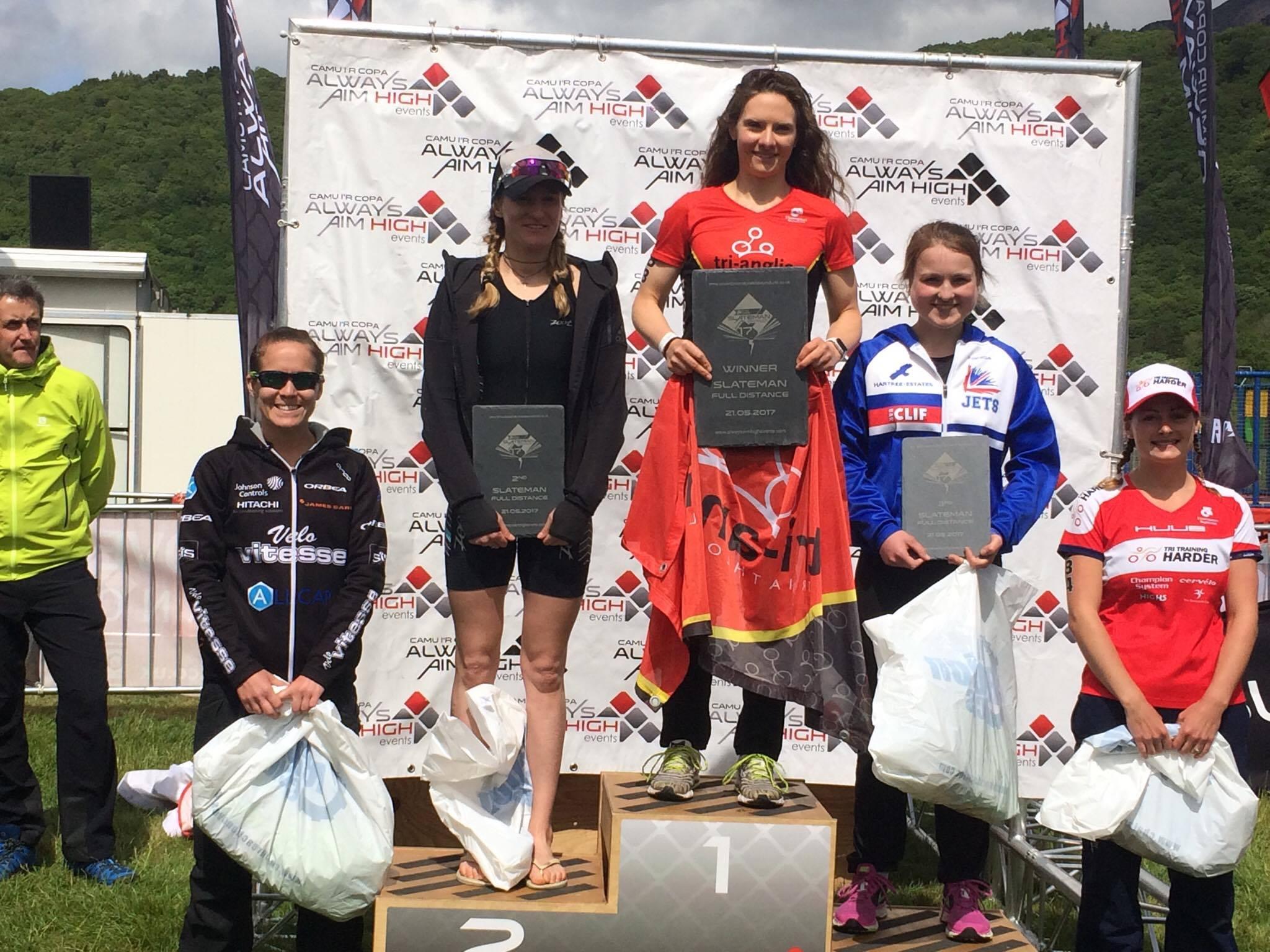 Becky Schofield Slateman Tri Champion