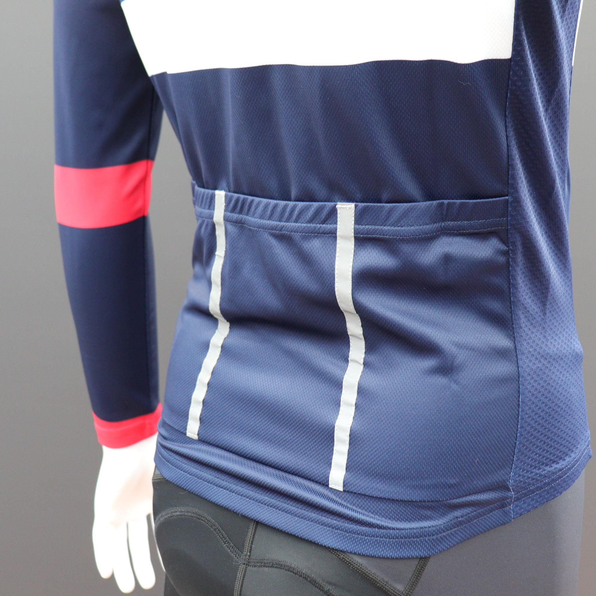 Long Sleeve Classic Cycle Jerseys - Reflective Pack