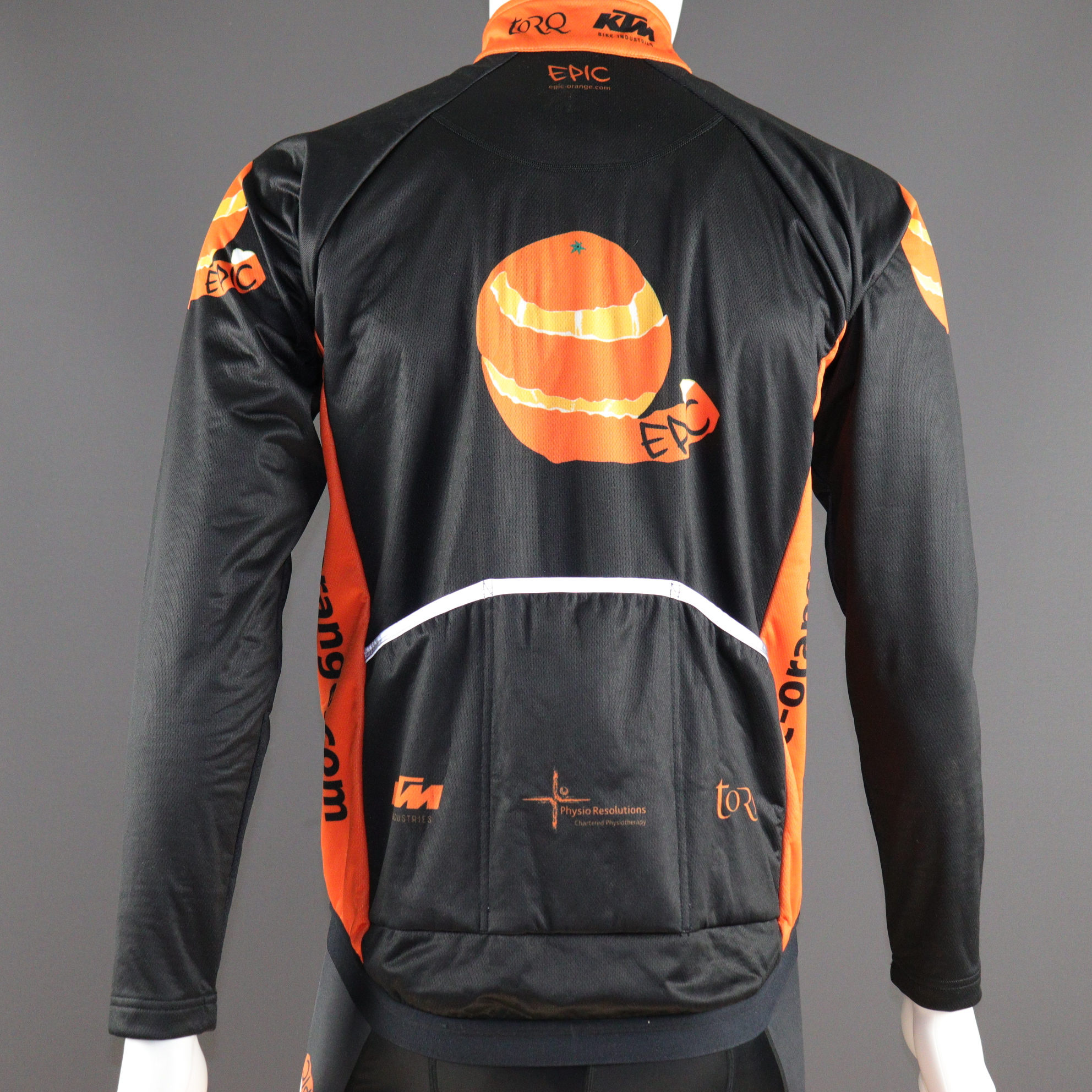 Custom Winter Cycling Jackets - Reflective pack