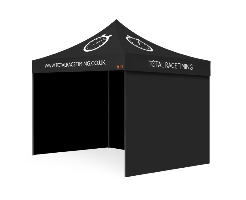 Intermediate Package Custom Printed Gazebo - Total Race Timing