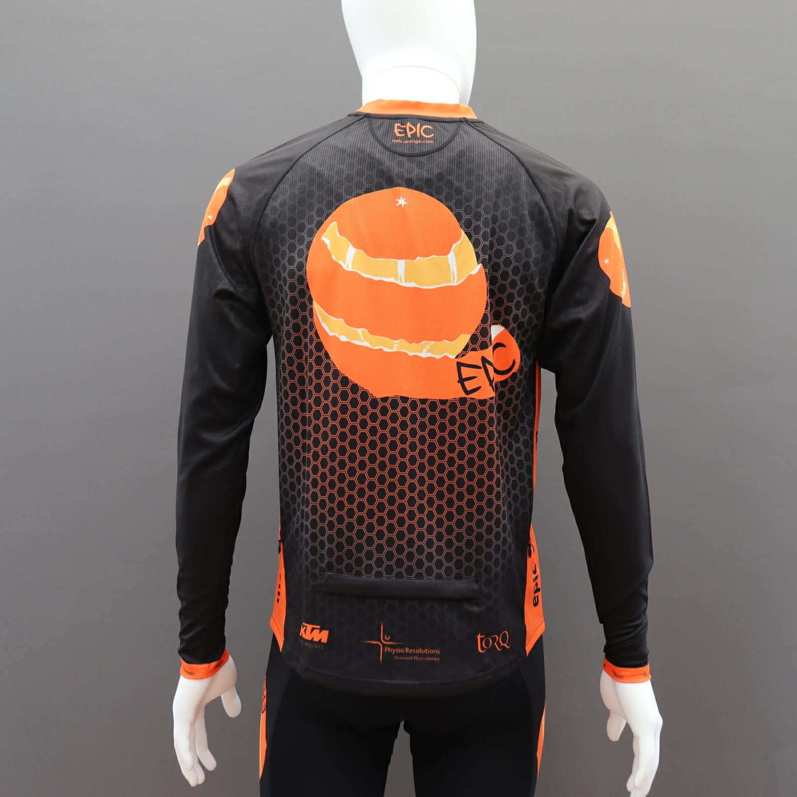 Custom Long Sleeve MTB Jerseys