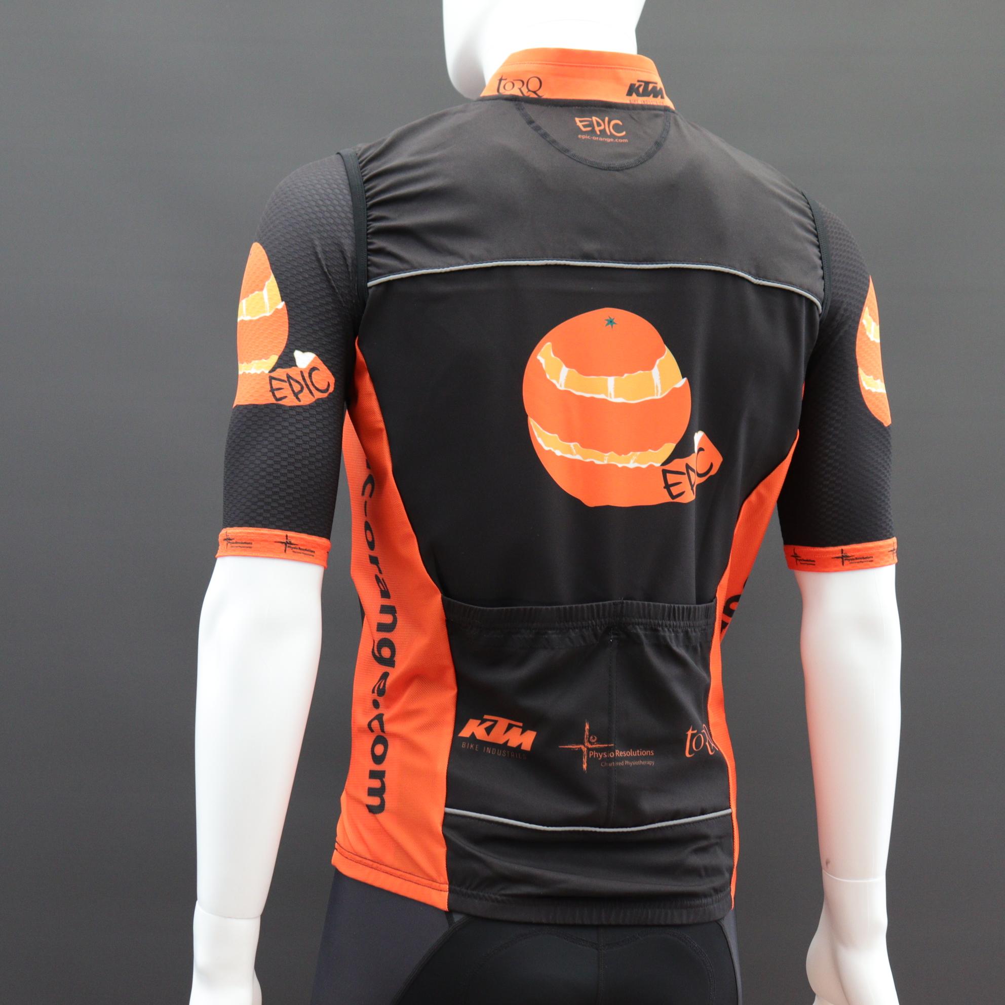 Custom Printed Pro Cut Cycle Gilets