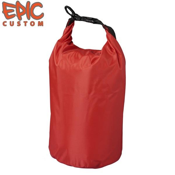 Printed Waterproof Dry Bags 10 litre RED