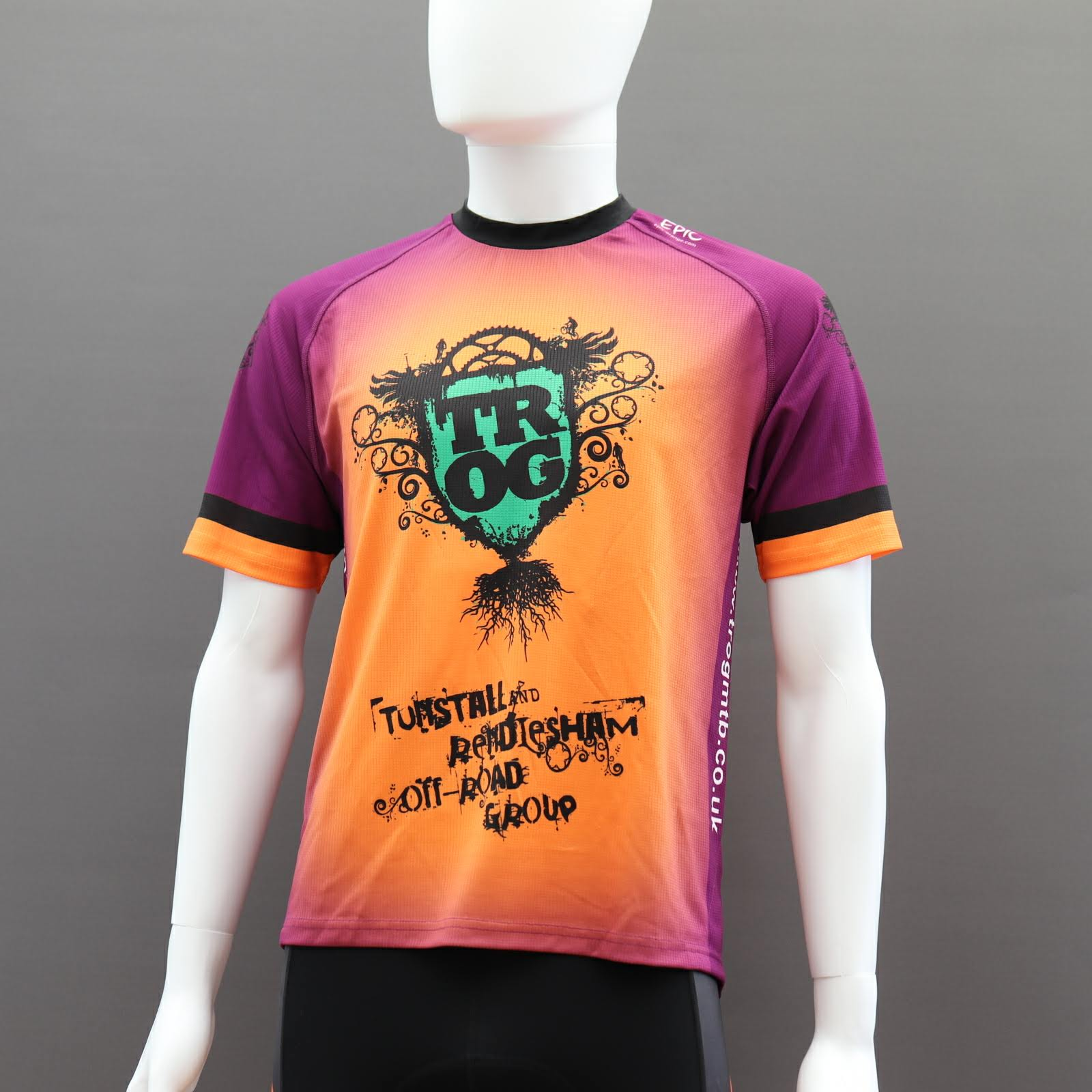 Custom Short Sleeve MTB Jerseys
