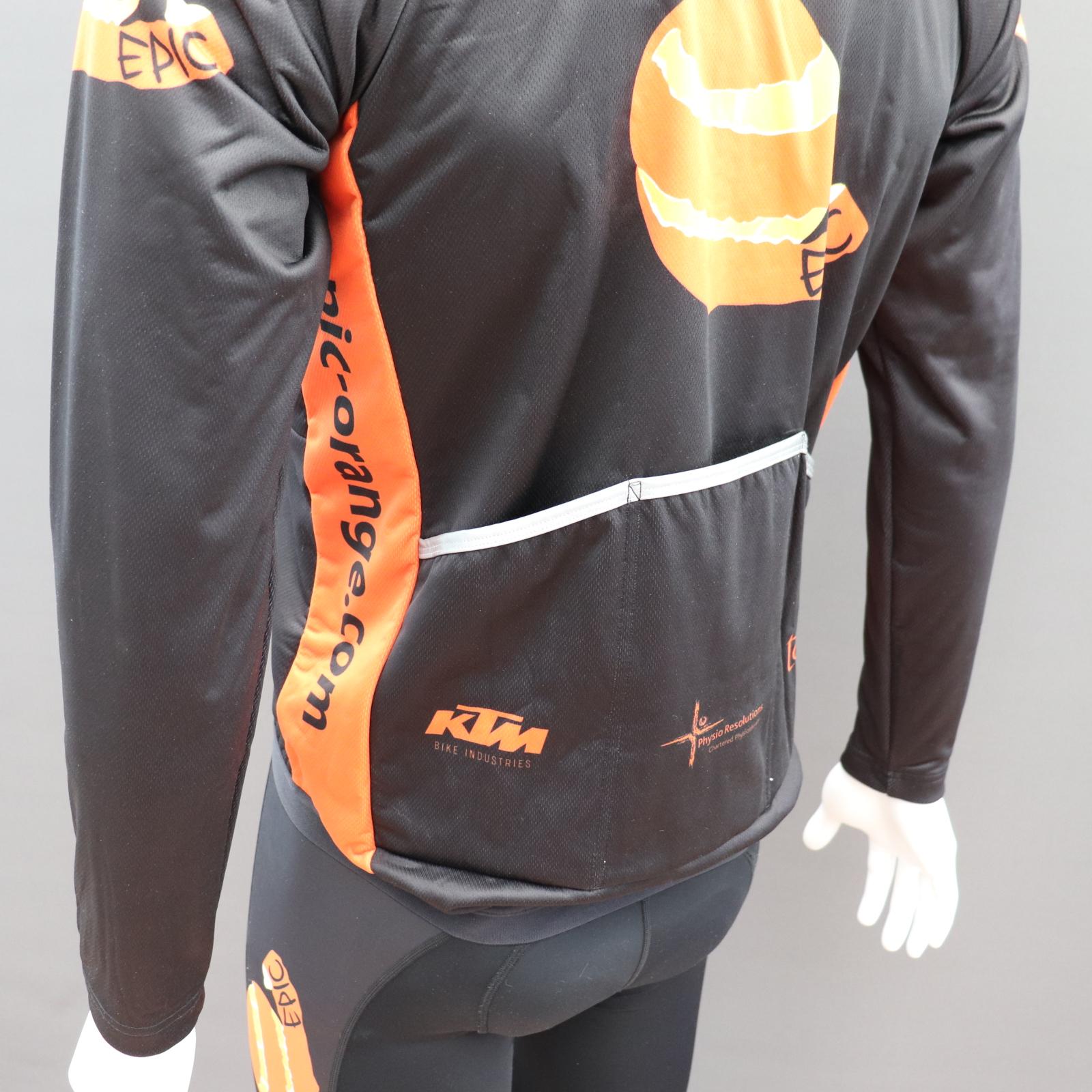 Sub Zero Cycle Jackets - Deep Reflective Pockets