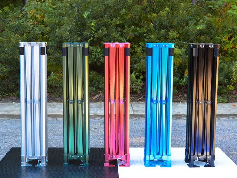 Epic 50 Gazebo Frame Anodised Colour Options