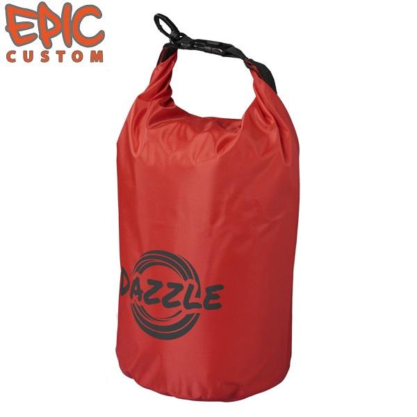 Custom Printed Dry Bags 10 litre RED