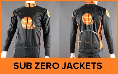 Sub Zero Winter Cycling Jackets