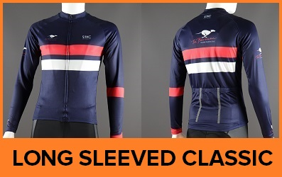Custom Printed Long Sleeved Cycle Jerseys