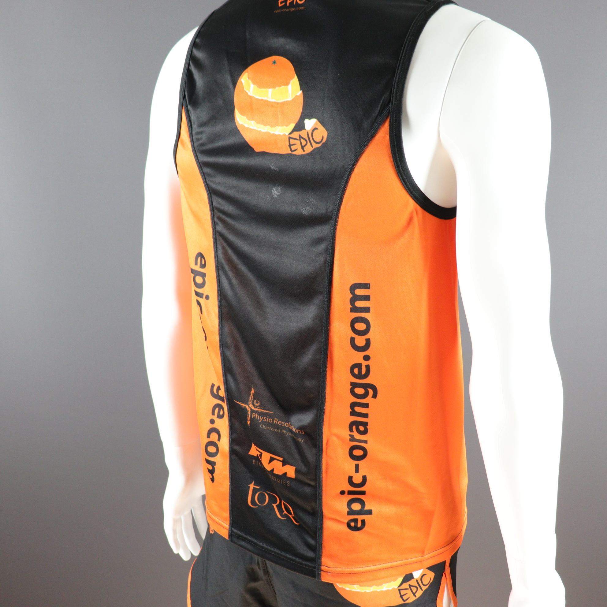 Custom Printed Performance Run Vests
