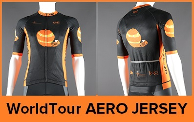WorldTour Aero Cycle Jerseys Custom Printed