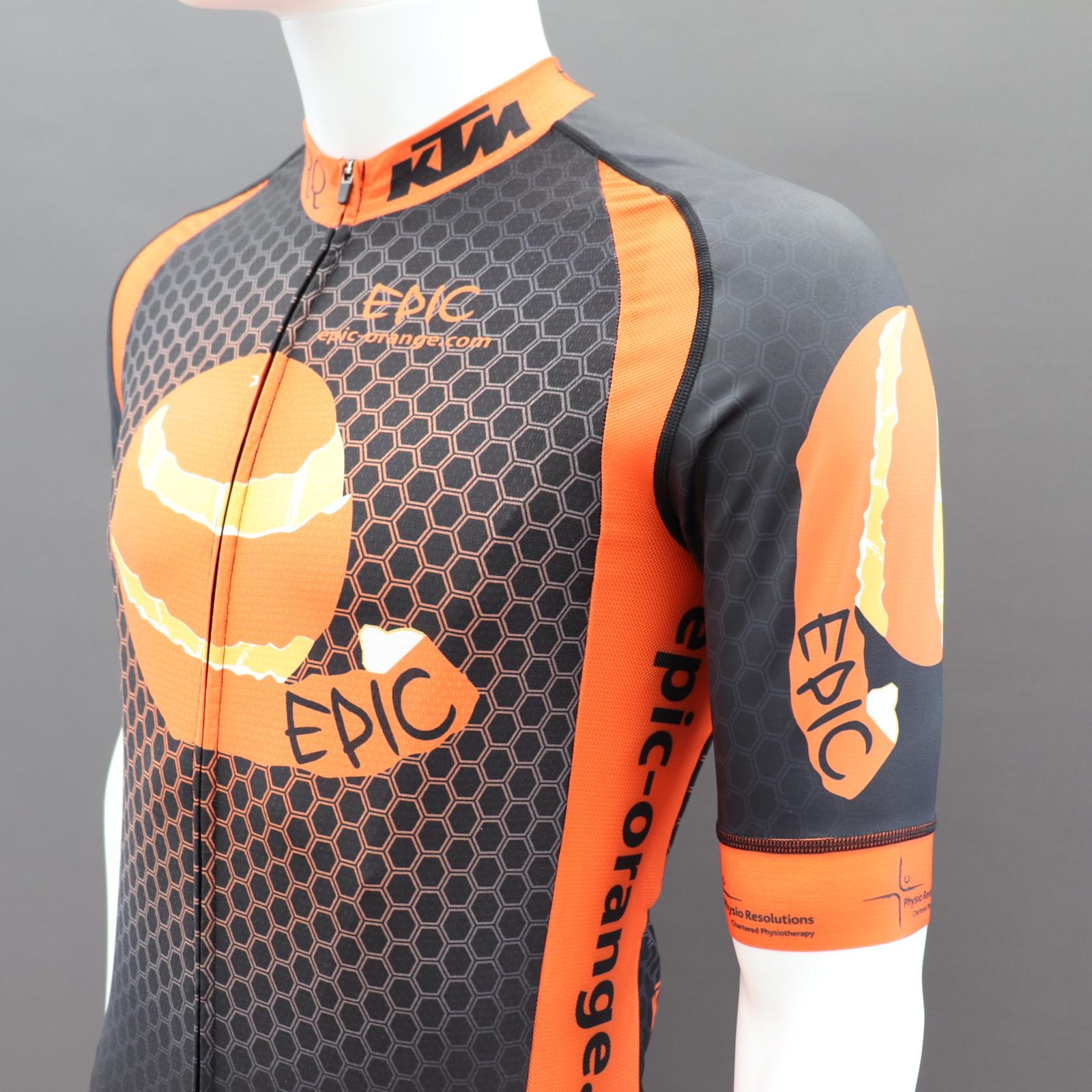 Pro Cycle Jerseys Shaped Side Panels