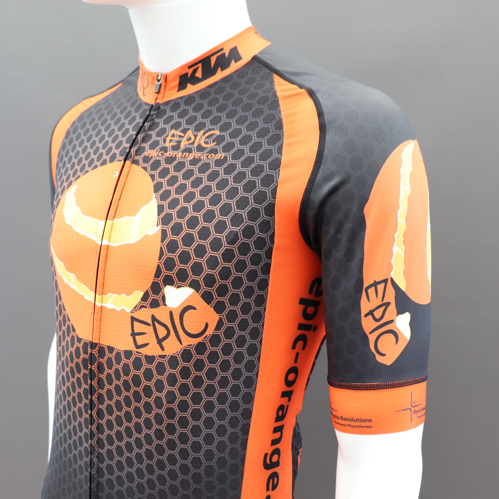 Pro Cycle Jerseys Shaped Side Panels