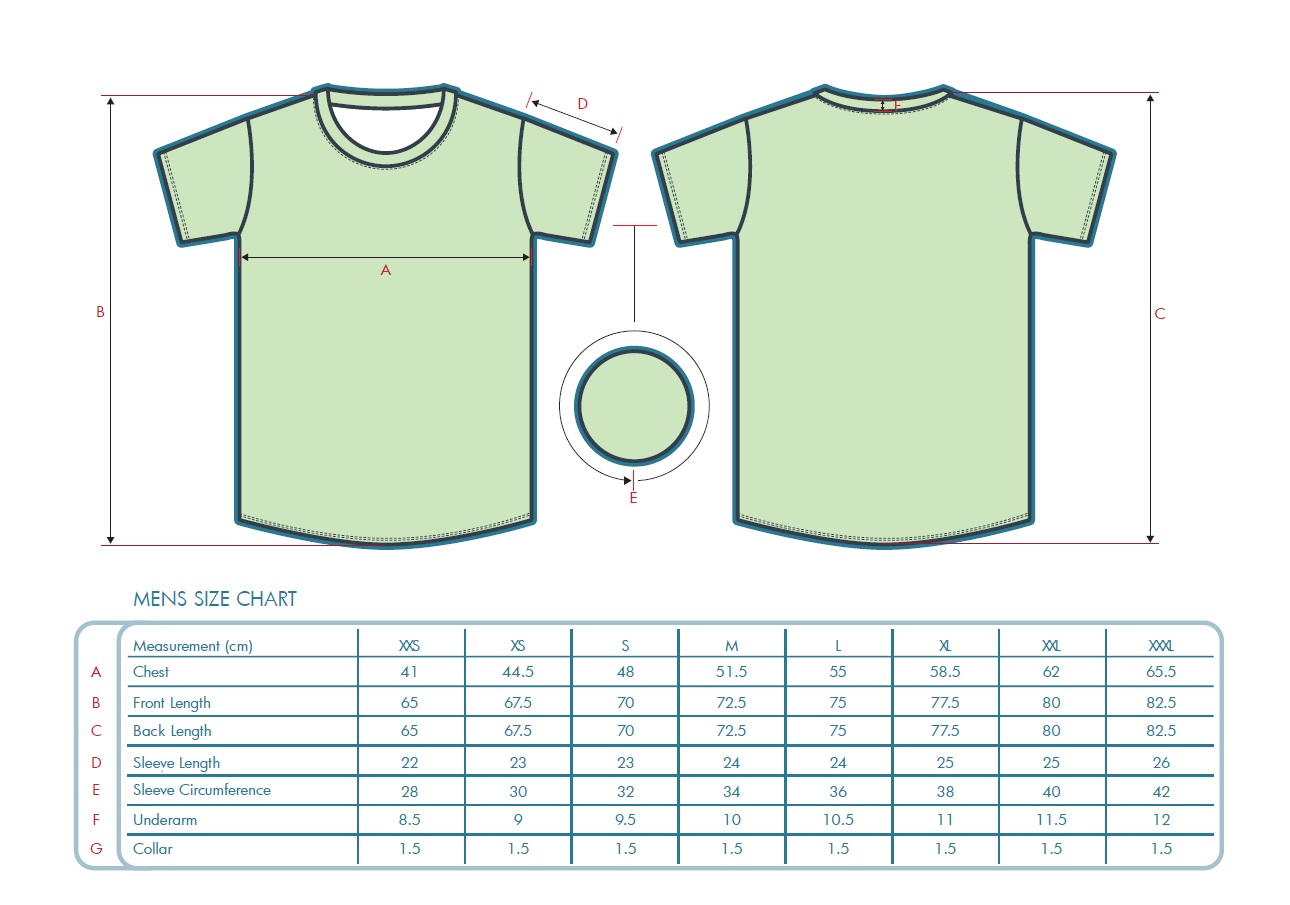 Custom Running Shirts with Set In Sleeves Men's Sizing