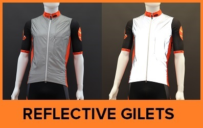 Custom Printed Reflective Cycle Gilets