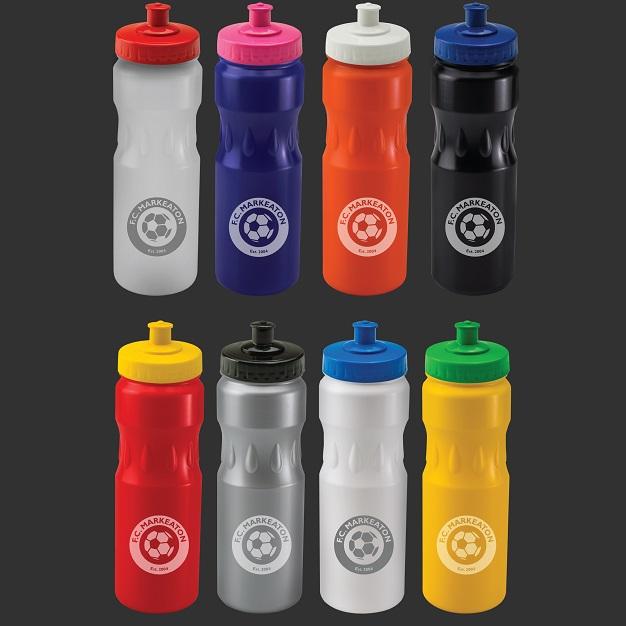 Custom 750ml Teardrop Sports Bottles range