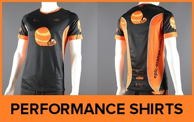 Custom Printed Performance Running Shirts