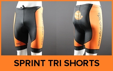 Custom Triathlon Shorts Sprint