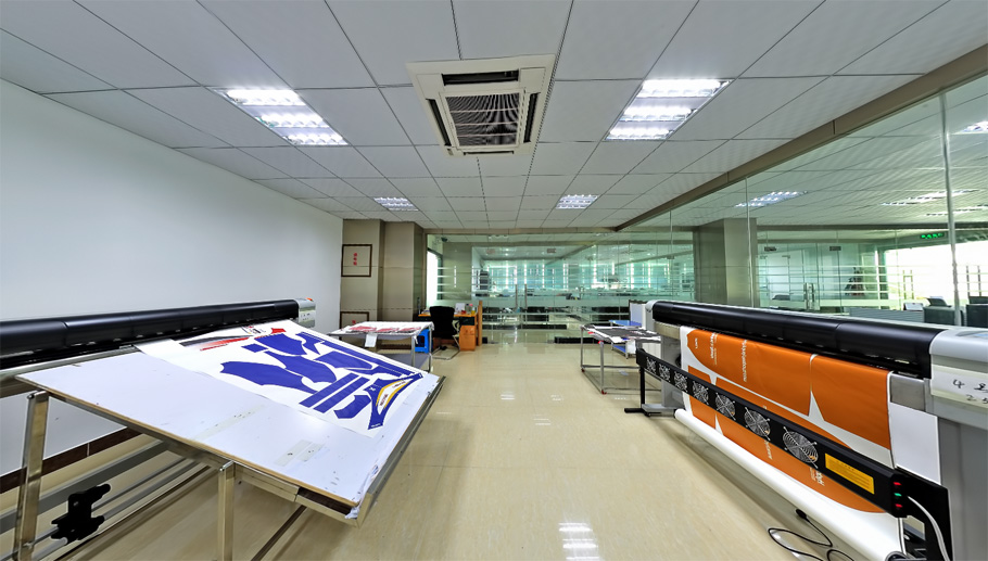 Sublimation Printing Room