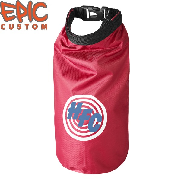 Custom Printed Dry Bags RED
