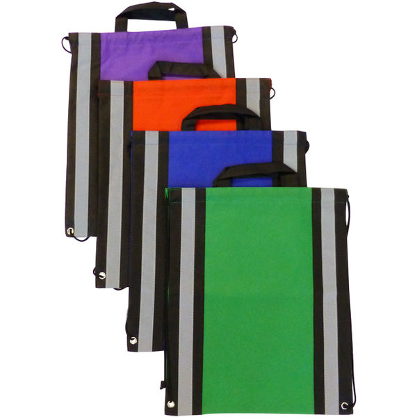 Epic Reflective Drawstring Bags