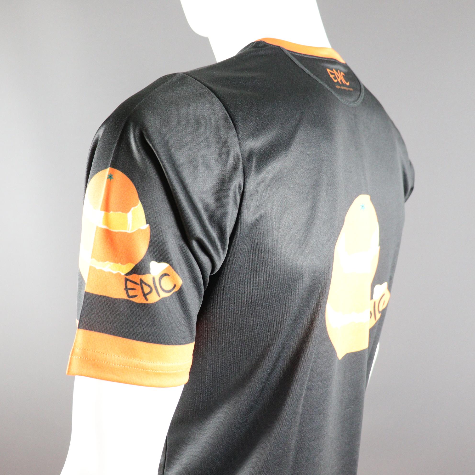 Custom Printed Racer Tech Run Shirts