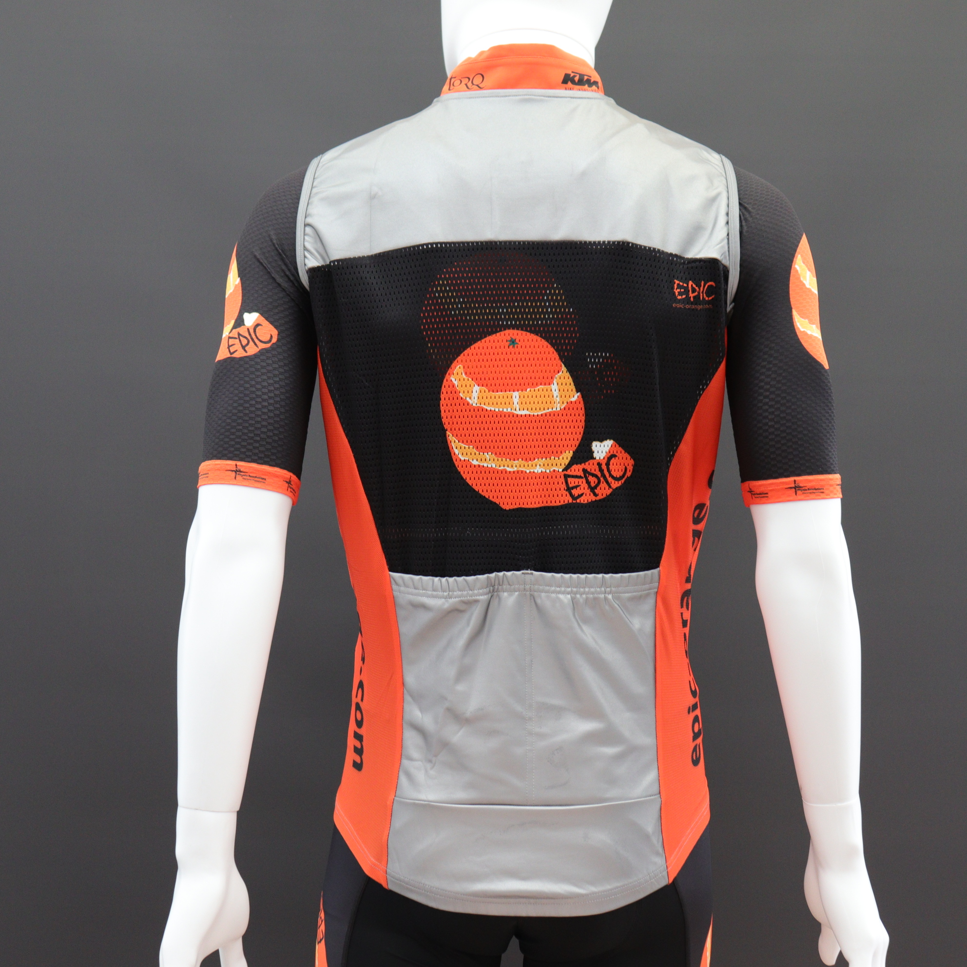 Reflective Cycle Gilets Custom Printed