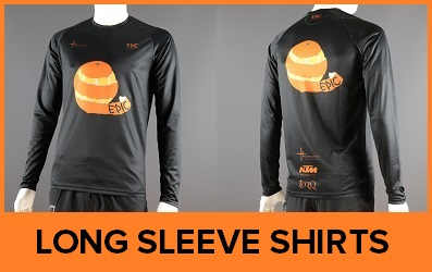 Custom Printed Long Sleeved Running Shirts