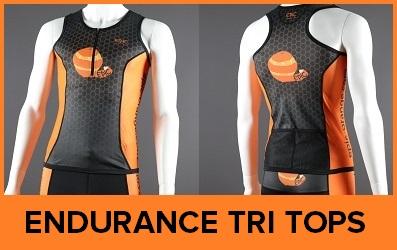 Custom Triathlon Tops Endurance