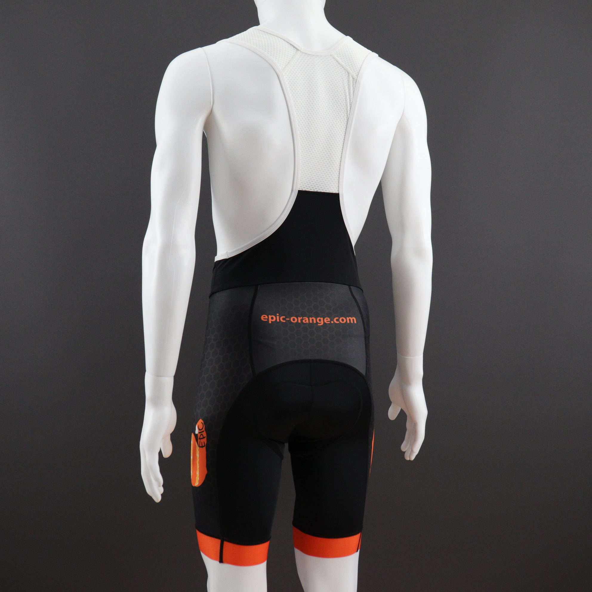 Custom Printed Pro Cycling Bib Shorts