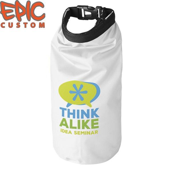 Custom Printed Dry Bags WHITE
