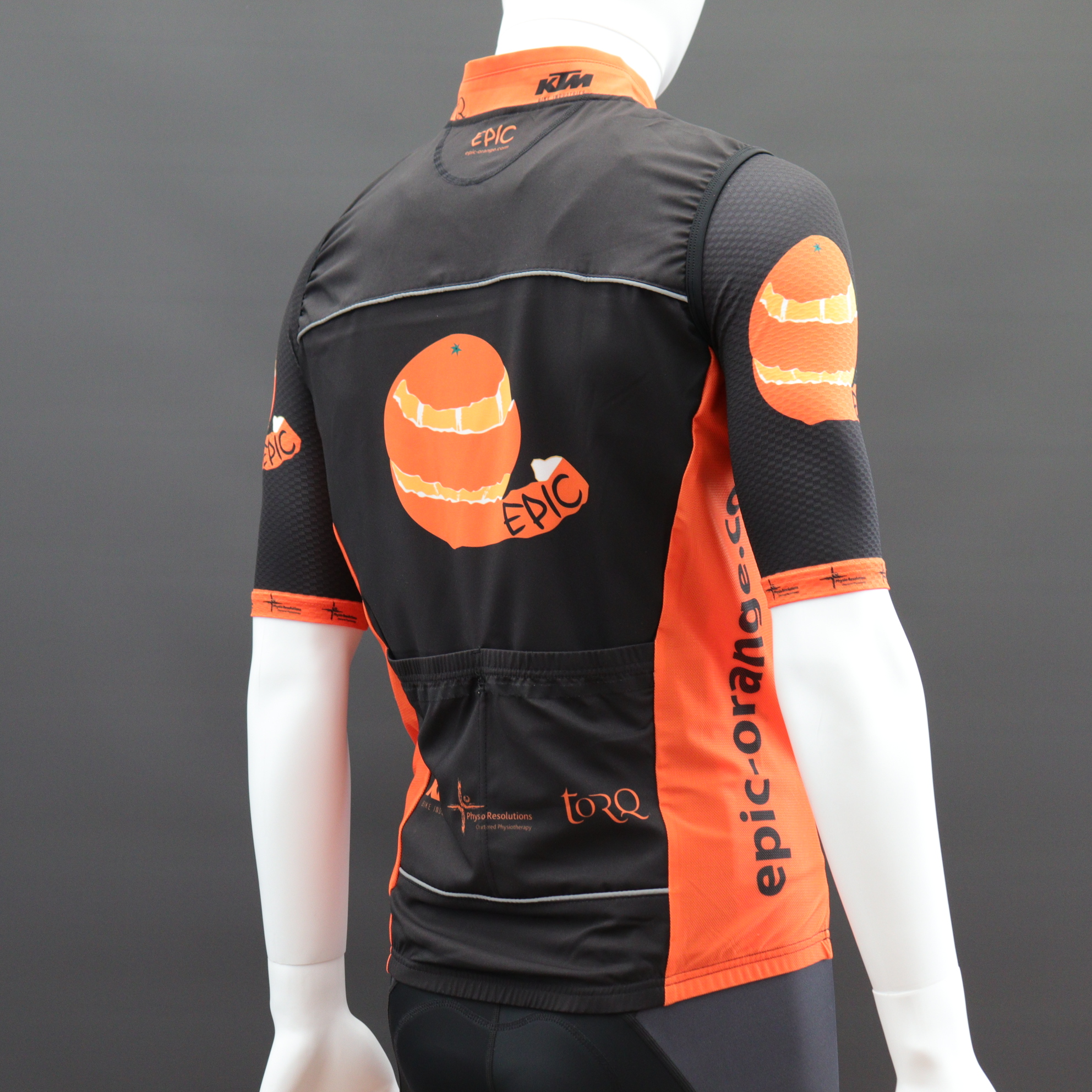 Custom Pro Cut Cycle Gilets