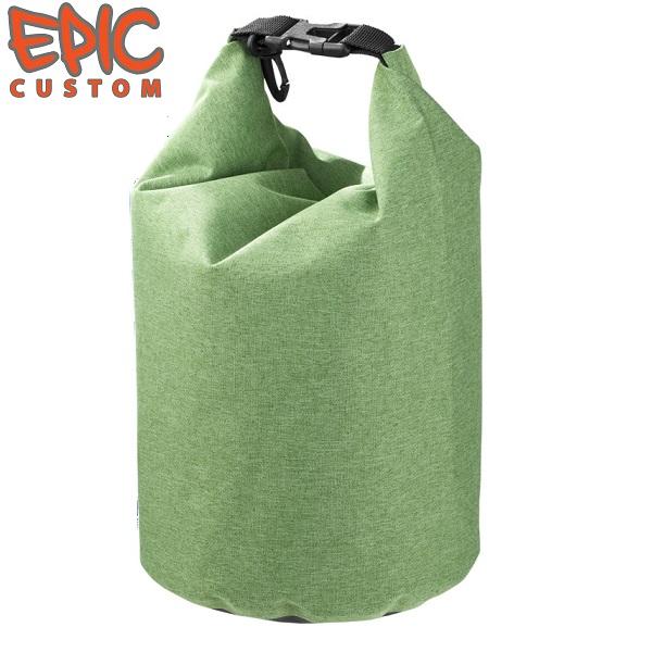 Custom Printed Waterproof Dry Bags 5 litre Heather GREEN