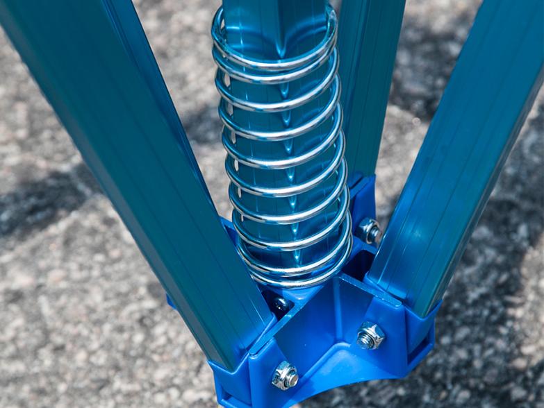 Pro 50 Gazebo Frame Anodised Blue