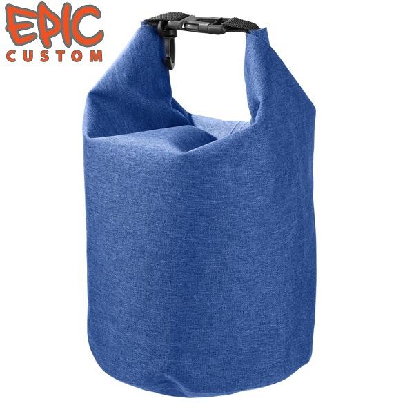 Custom Printed Waterproof Dry Bags 5 litre Heather BLUE